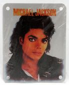 Michael Jackson - 'Michael' Brassart Metal Patch
